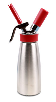 iSi Half Litre 100 % Stainless Whip Cream Dispenser Gourmet