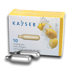 Kayser CO2 Soda Chargers - Case of 30 Boxes