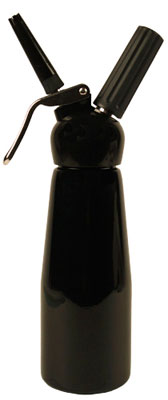 TW by Mosa Half Litre Whip Cream Dispenser - Black