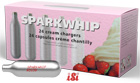 Sparkwhip Cream Chargers by iSi - Box of 24